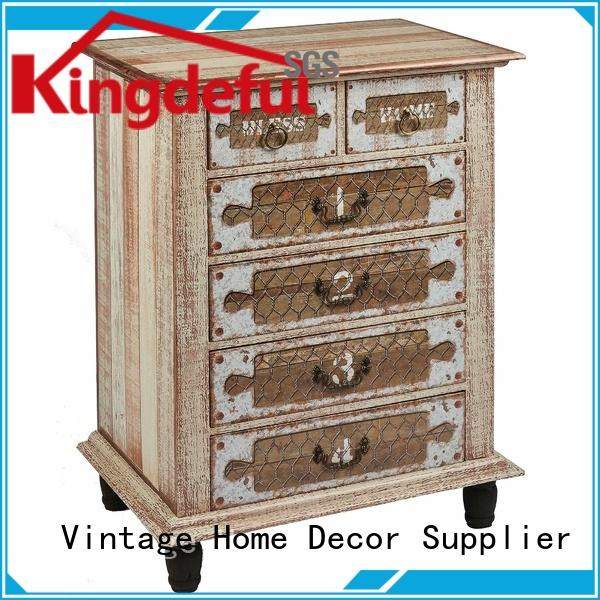 Quality Kingdeful Brand Vintage Furniture Company dmbossed on