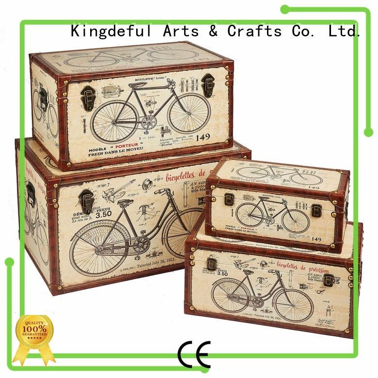 vintage white set Trunk Manufacturers Kingdeful Brand