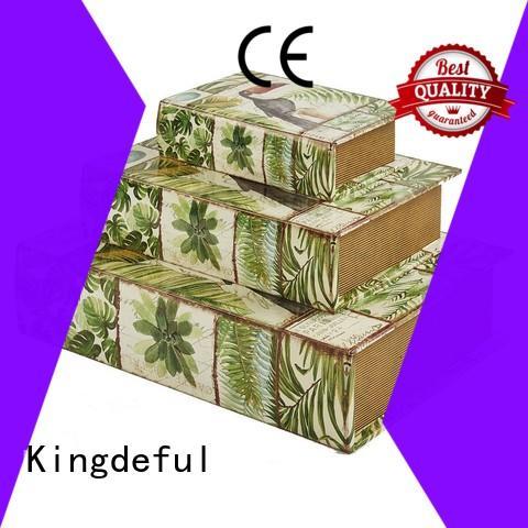 Quality Kingdeful Brand Decorative Book Boxes Wholesale paris antique