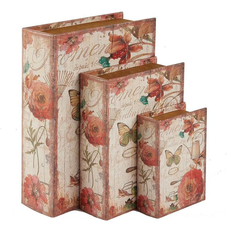 Faux Book Boxes Manufacturer